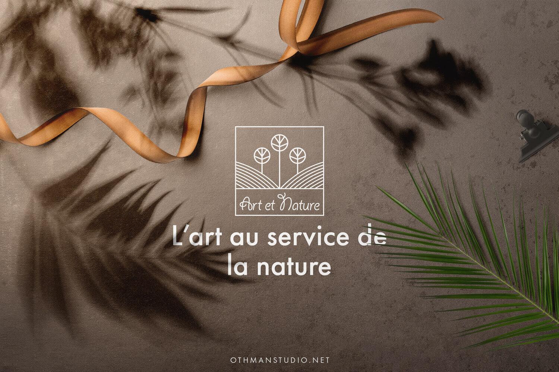 identité marque art nature Identité de marque Art et Nature artnature1