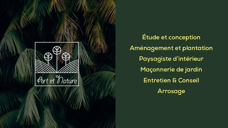 identité marque art nature Identité de marque Art et Nature artnature2