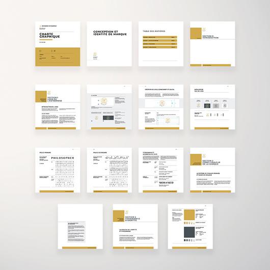 charte graphique entreprise identité visuelle Identité visuelle charte graphique 1