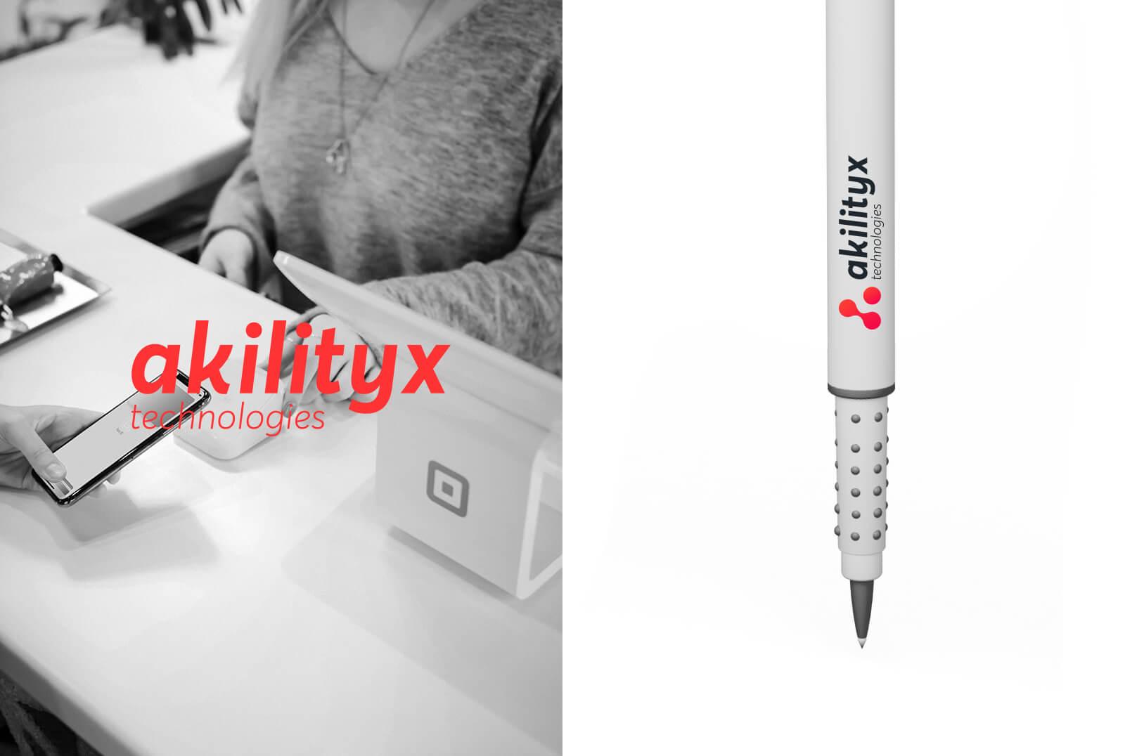 identité visuelle analytiques identité visuelle analytique Akilityx – Identité & Site web akili5