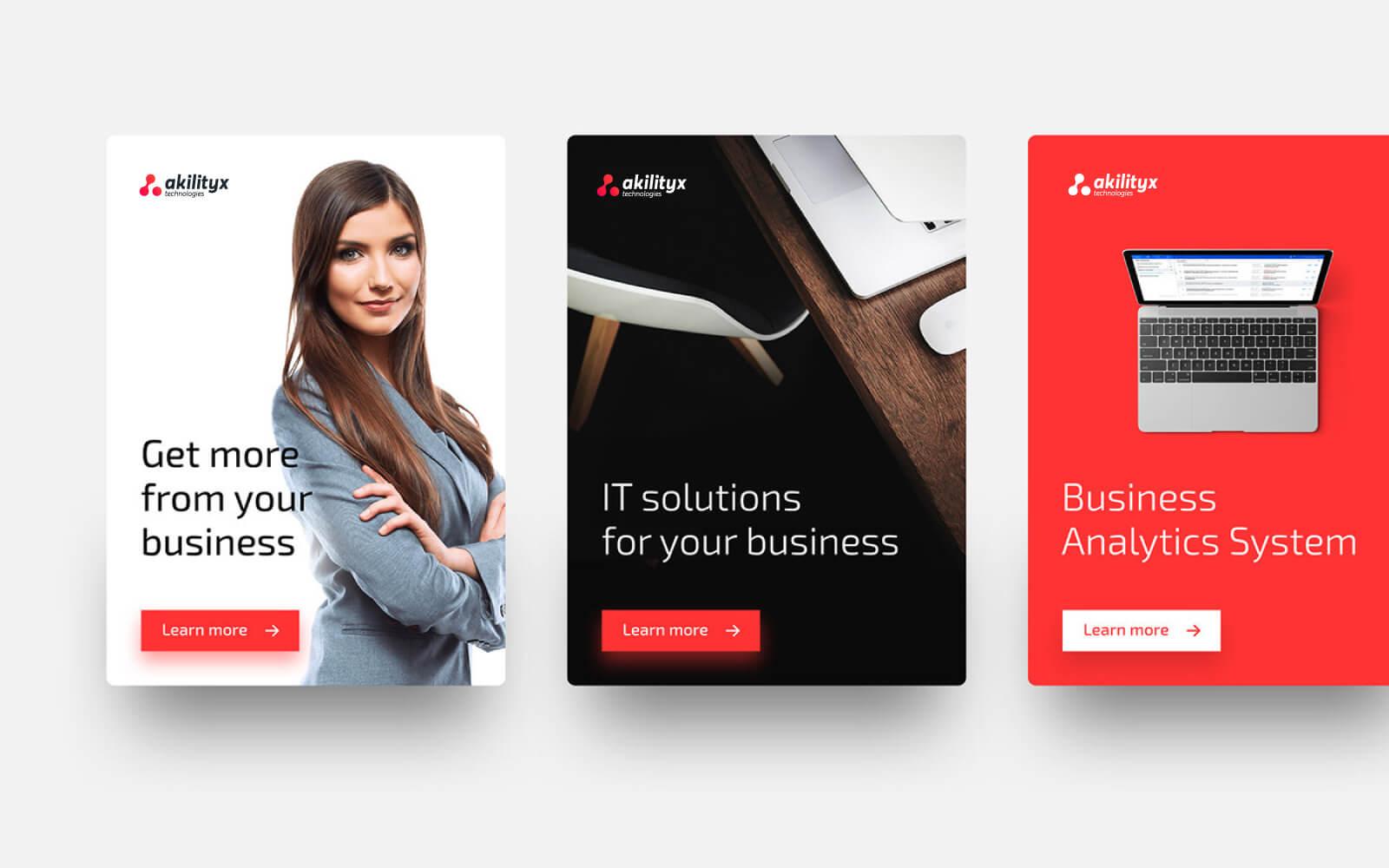 identité visuelle analytique Akilityx – Identité & Site web akili6