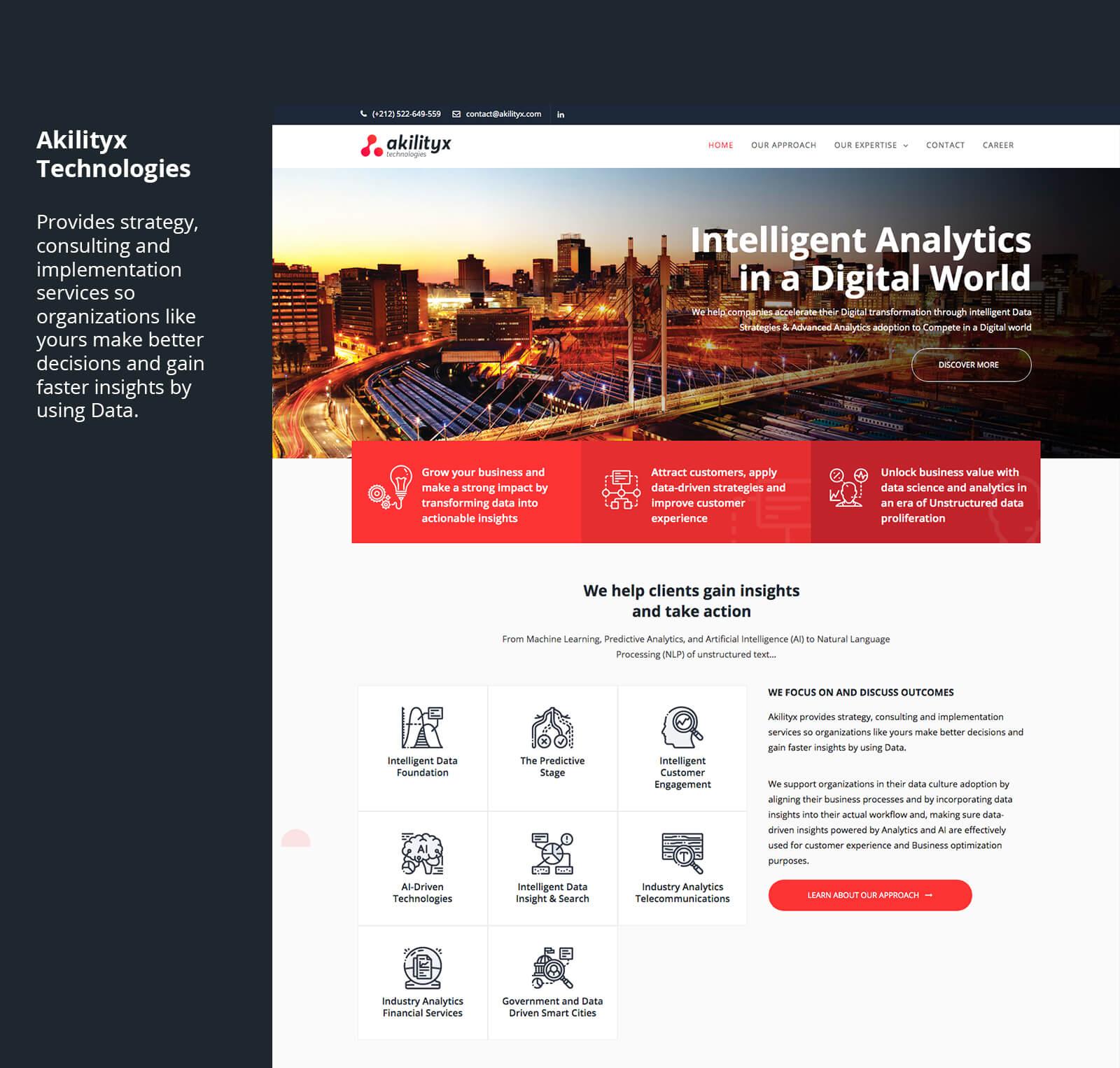 site web akilityx identité visuelle analytique Akilityx – Identité & Site web akili9