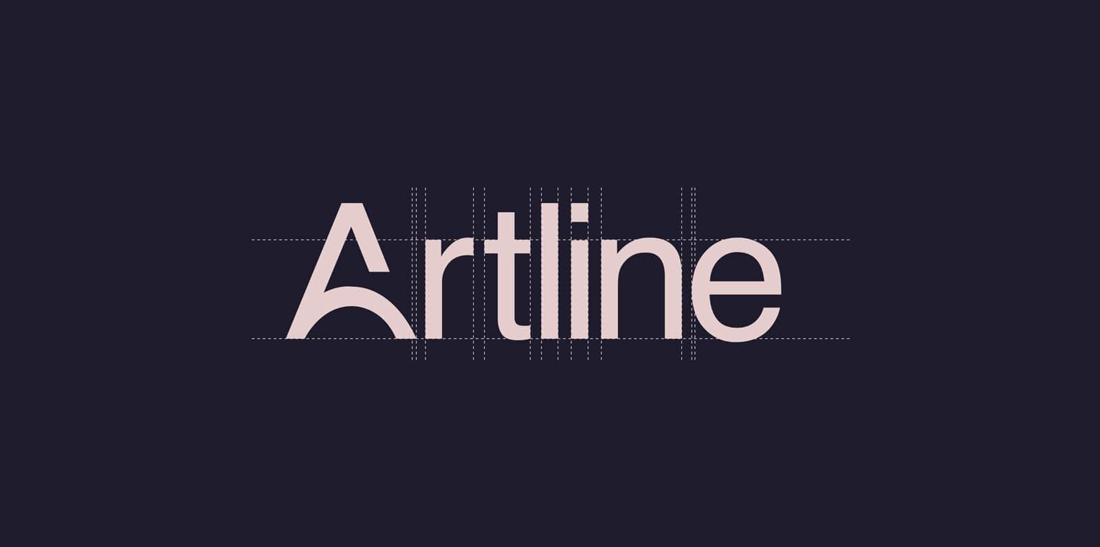 Identité visuelle intérieur Artline identité visuelle intérieur Identité Artline intérieur art2