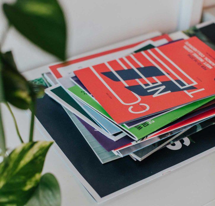 Conception Brochure catalogue